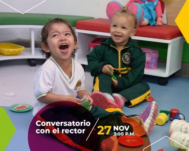 CONVERSATORIO CON EL RECTOR