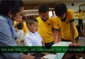 We are special, we can make the difference